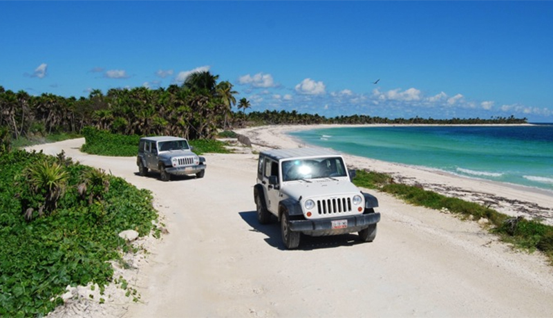 Jeep Riviera Maya Tour